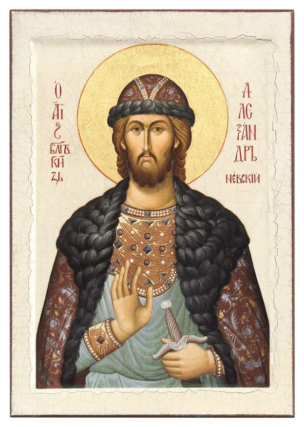 Икона Александру Невскому
