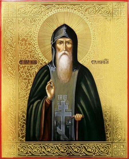икона Нил Столобенский