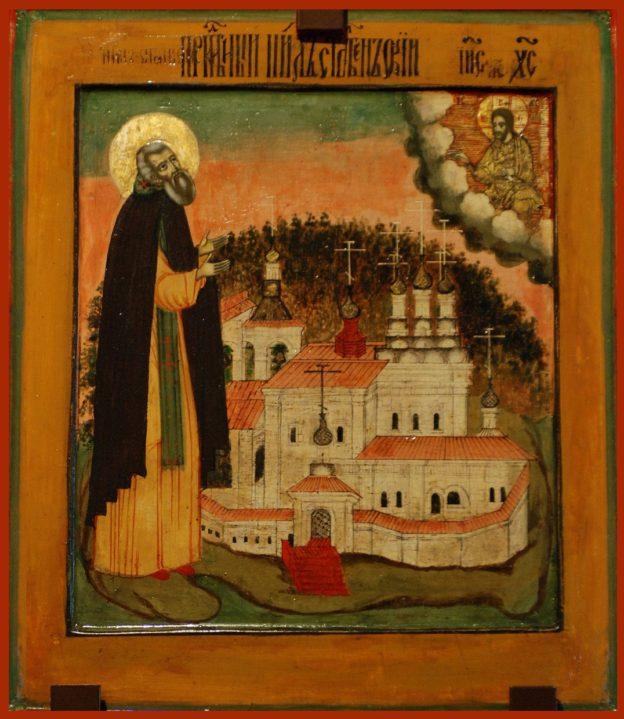 Икона Нилу Столобенскому