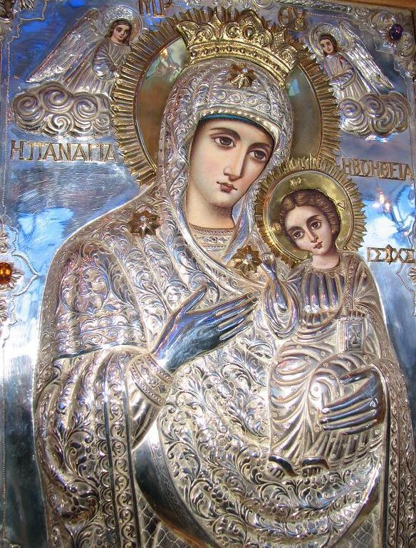 Икона Пресвятой Богородицы Помощницы