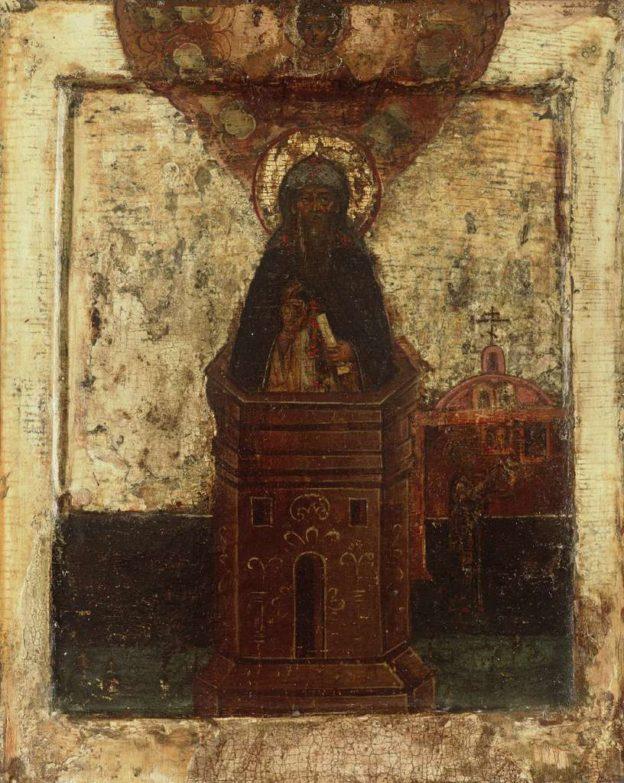 икона Симеону Столпнику