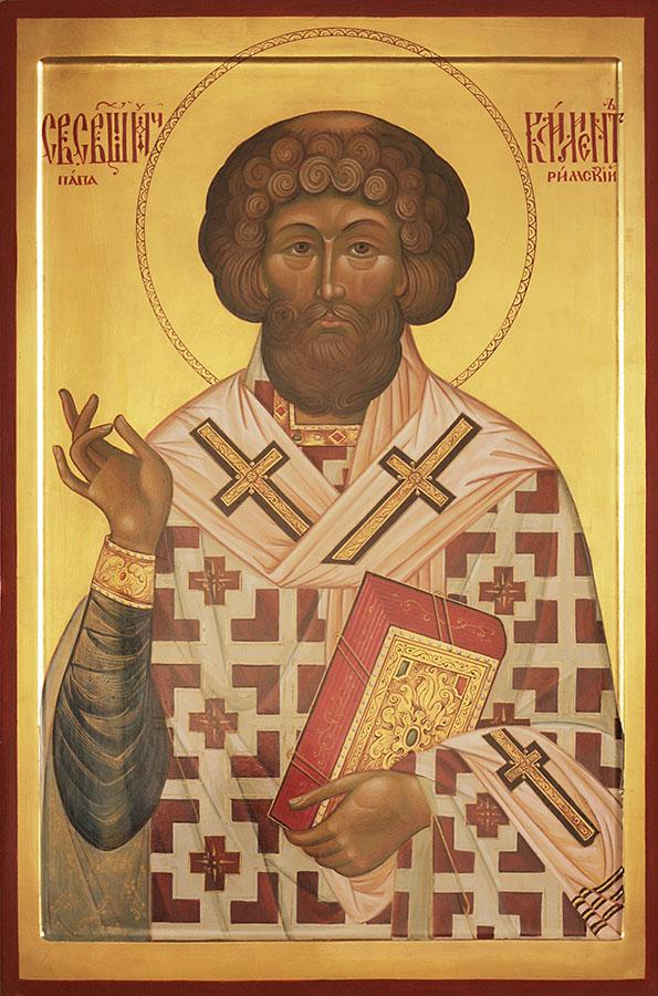 икона Клименту, папе Римскому